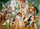 Arshile-Gorky-Annual-sawhorse-1944