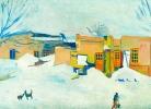 Մ.Սարյան, Ձմեռը Երևանում, 1933թ.