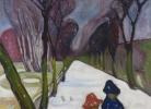 Է.Մունք, Նոր ձյունը Ավենյուում, 1906թ.