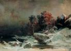 Ա. Մեսչերսկի, Ձմեռային երեկո Ֆինլանդիայում, 1885թ.