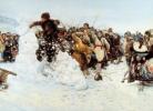 Վ.Սուրիկով, Ձնե քաղաքի գրավումը, 1891թ.