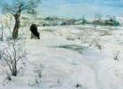 Ի. Բրոդսկի, Ձմեռ, 1908-1914թթ.