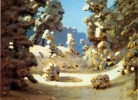 Ն. Քուինջի, Արևի հետքեր ձյան վրա, 1876թ.