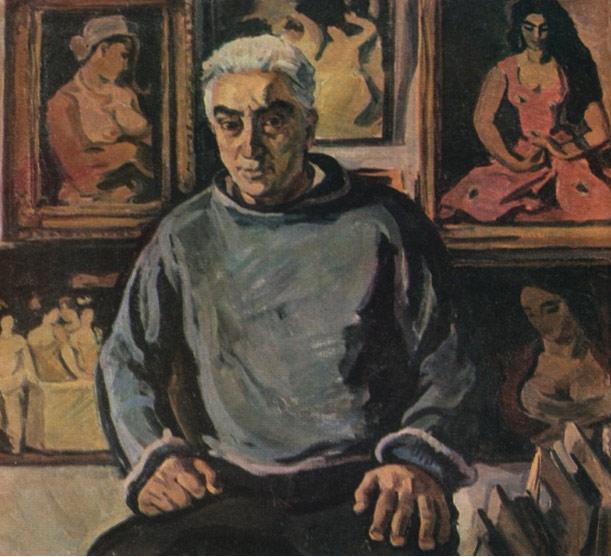 Լավինիա Բաժբեուկ-Մելիքյան,  Հոր`  Ալեքսանդր Բաժբեուկ-Մելիքյանի դիմանկարը, 1960