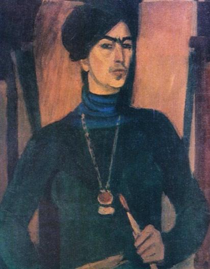 Լավինիա Բաժբեուկ-Մելիքյան,  Ինքնադիմանկար, 1978
