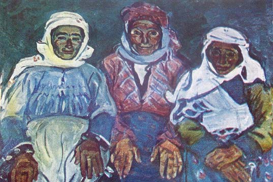 From Well-Known Artists to Simple Armenian Villagers.The Portraits of Lavinia Bazhbeuk-Melikyan