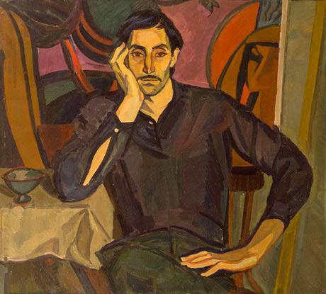 Լավինիա Բաժբեուկ-Մելիքյան,  Մինաս Ավետիսյանի դիմանկարը,1965