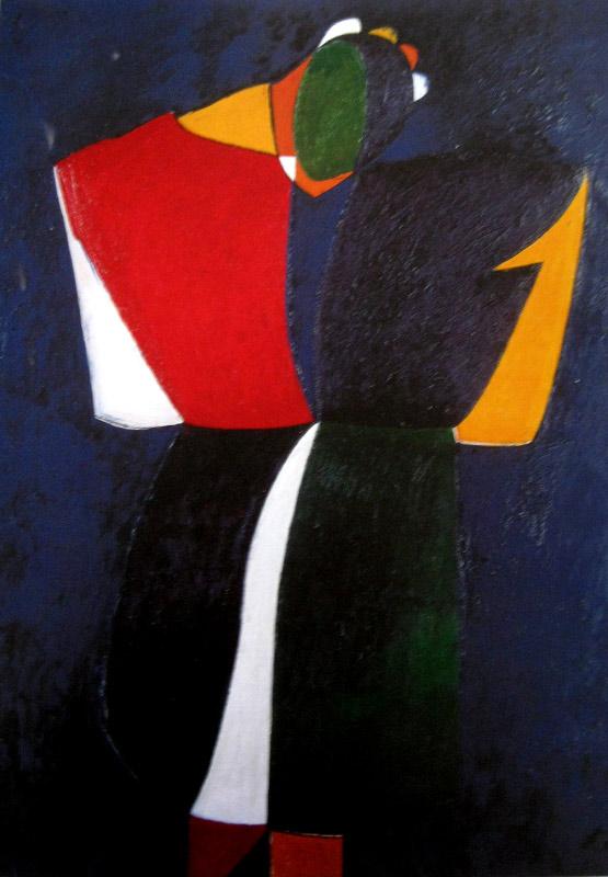 Աշոտ Հովհաննիսյան, Ավետիս, 1979-1984,  կտավ,յուղաներկ, 200x144սմ