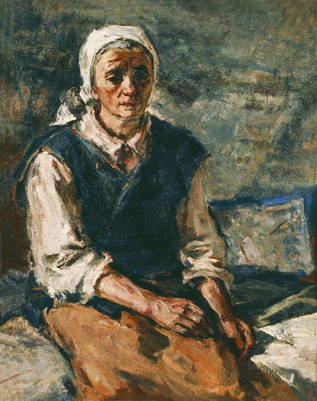 Մորս դիմանկարը, 1944,կտավ, յուղաներկ, 88x71