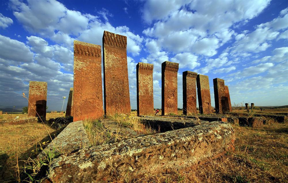 Տապանաքարեր Խլաթում, Բիթլիս, Թուրքիա