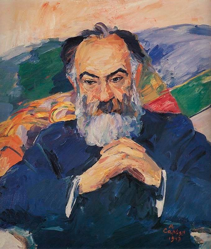Joseph-Orbely's-portreit-by-Martiros-Saryan
