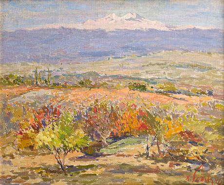Хачатур Есаян, Осень