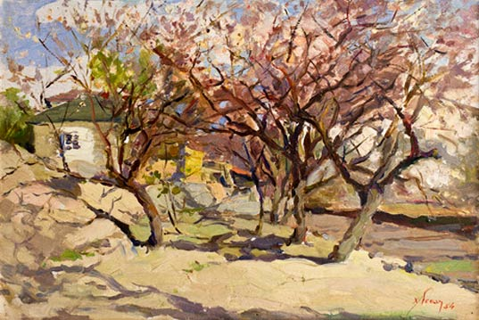 Armenian Landscape Painter Khachatur Yesayan and Impressionism