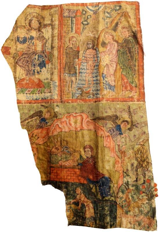 Մշո Ճառընտիր, Քրիստոսը պատվիրատուի հետ,  Մկրտություն, Ծնունդ,  1 բ, 65x52