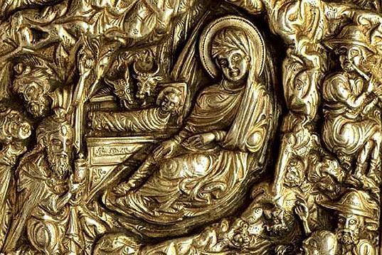 Серебряный переплет « Морского евангелия »