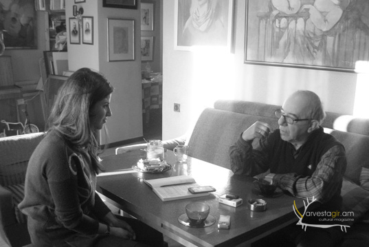 Interview with Ruben Arutchyan