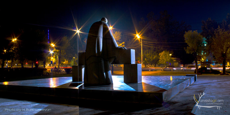 A.Tamanyan-Yerevan-Night