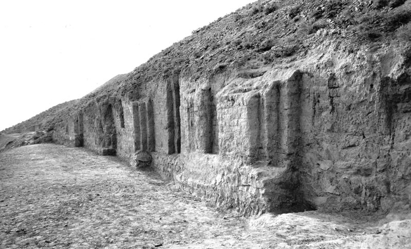 Artashat-The-Acropolis-of-the-capital-Artashat-with-Urartian-brick-buttresses
