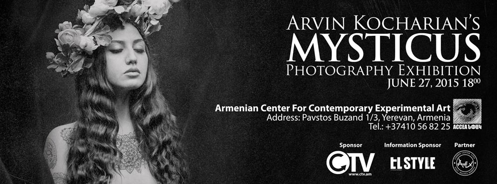 Arvin-Kocharyan's-photography-exhibition-poster