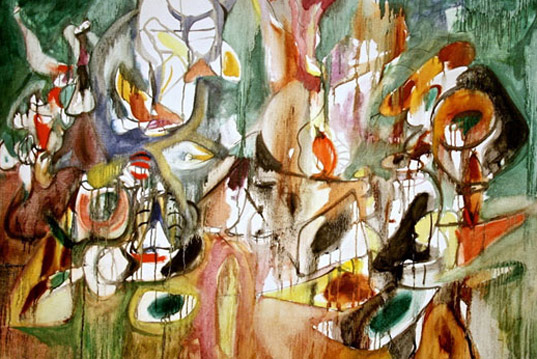 Экспрессионизм в работах Армянских художников связянных с геноцидом.
