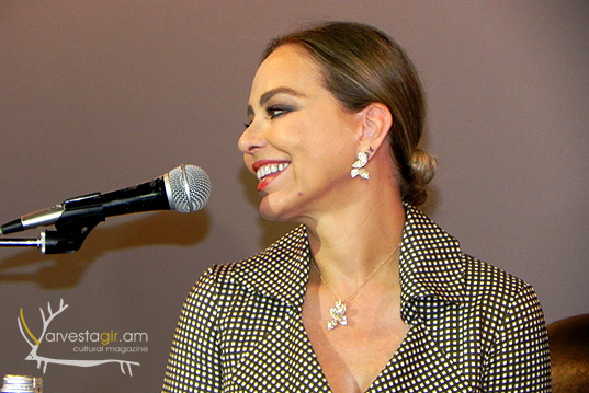 Ornella Muti is in Yerevan…