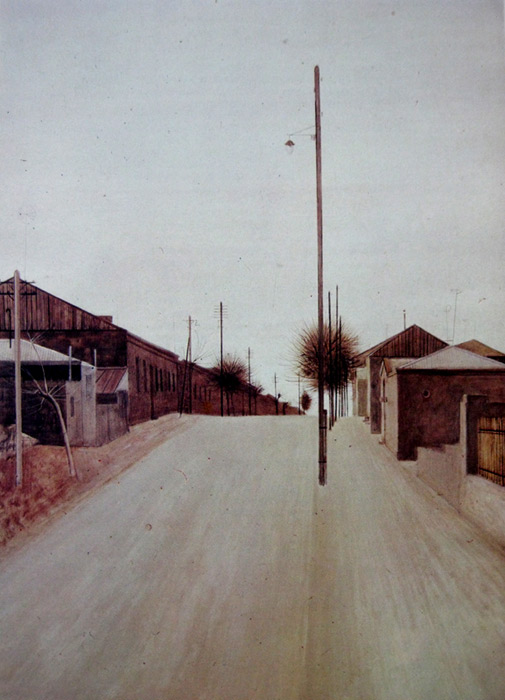 Hakob-Hakobyan-A-street-in-Leninakan