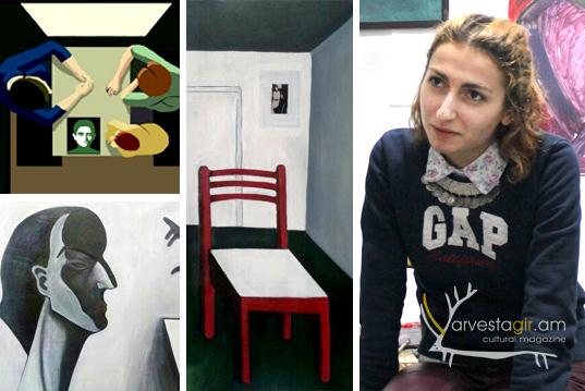 "Dialog in the studio: Ani Mkheyan. ""I cleanse myself through my art… """