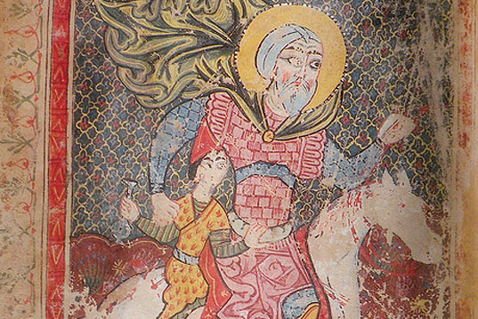 Saint Sargis's day and his character in Armenian medieval art