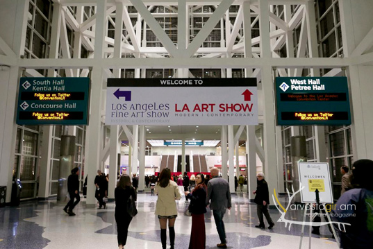 Two Armenian pavilions in LA ART SHOW-2016