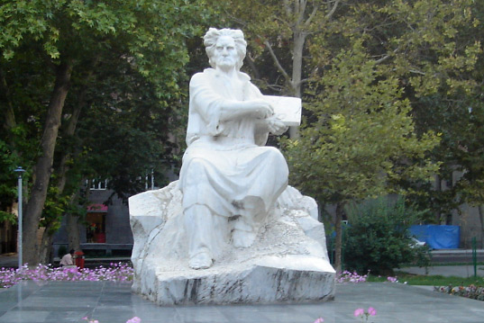 The Sculpture of Martiros Saryan, in the park of art