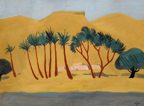 Martiros-Saryan-oazis-anapatum-1911