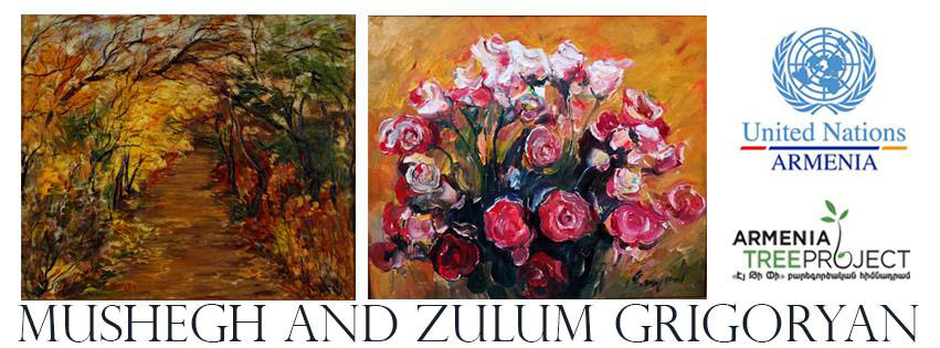 Exhibition-sale-of-Mushegh-and-Zulum-Grigoryans-Artworks-poster
