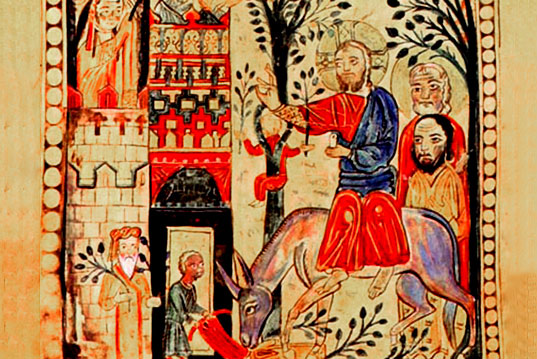 "The purport of Tsaghkazard (The Palm Sunday) and the iconography of  ""The entrance to Jerusalem"" in Armenian medieval art."