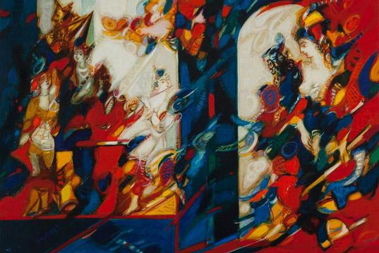 «Отражения» выставка Роберта Элибекяна с 18-ого марта