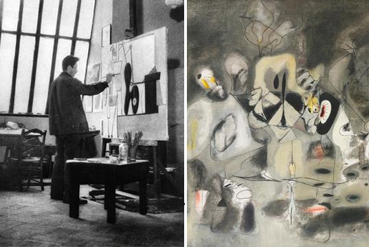Արշիլ Գորկու «Գայթակղիչի օրագիրը»:   Եվրոպական մոդեռնիզմի ու ամերիկյան ավանգարդի մեջտեղում