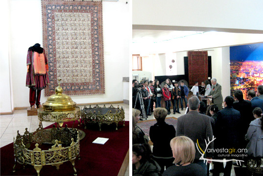 """Dialogue of  the Cultures"" in Yerevan History Museum"