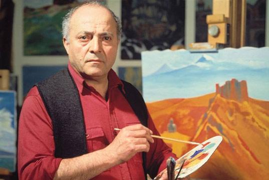 Персональная выставка Генриха Сиравяна на 13-ого мая