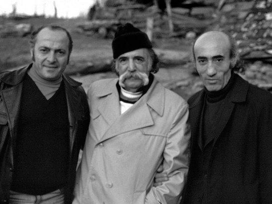 Հ.Սիրավյան, Վ.Սարոյան, Հ.Մաթևոսյան, 1978թ., Ահնիձոր