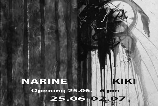 Exhibition of works of Kiki and Narine on25th of June
