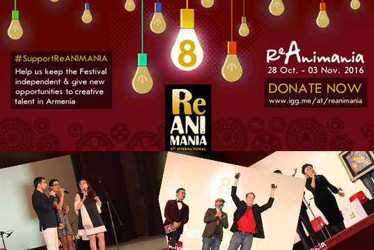 Reanimania – 8 | Animafest is launched in Armenia