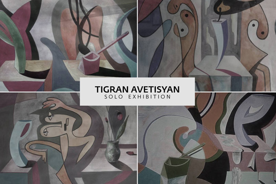 Tigran Avetisyan, solo exhibition at the 29th of October