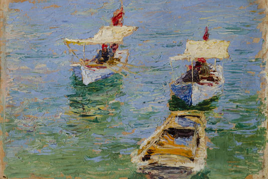 Artworks of Armenian Impressionists in Moscow